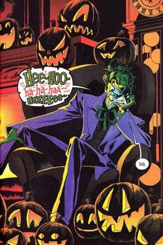 The Joker in The Long Halloween - Tim Sale Batman Year One, Batman Vs, Batman Stuff, Joker Villain, The Villain, Dark Knight Returns, The Dark Knight Rises, Nightwing, Batgirl