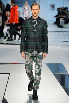 MSGM Fall 2014 Menswear Collection