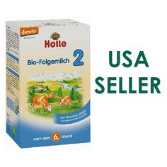 Holle Stage 2 Formula Organic Infant Baby Follow On Milk USA Seller 600g.