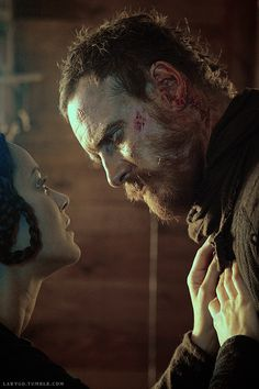 Lord and Lady Macbeth... MACBETH was totally overlooked in the 2015 Oscars, just sayin' -Sara