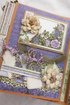Leisha's Blog: Flip Fold album with Heartfelt Creations.
