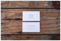 Business cards-designed by Tupy Boutique