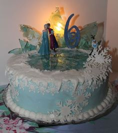 Yet another Disney Frozen birthday cake — Birthday Cakes