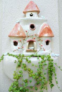 Caro A Handwork Castillo de aves Edición Limitada