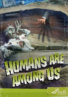 Humans are among us!