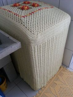 Crochet and Graphs: Capas para maquina de lavar - MODELO