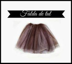 La falda de los sueños! Querida Claudina: DIY: Falda de Tul