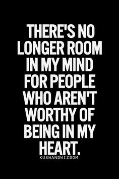♥ Yes, this is true. Took me a long time, but I finally reached a place where I no longer tolerate anyone whose values and beliefs don't line up with my own. It's not worth the angst ...