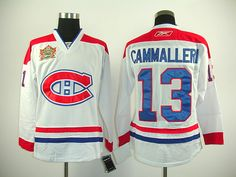Montreal Canadiens 13 Michael CAMMALLERI 2011 HERITAGE Classic Jersey