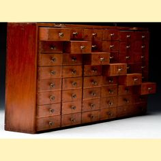 Apothecary Cabinet / Jewelry Box  / Tea Chest / by dwellbeing, $350.00