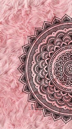 Super Ideas For Mandala Art Wallpaper Iphone Pink Wallpaper Backgrounds, Crazy Wallpaper, Wallpaper Wall, Pink Wallpaper Iphone, Pink Iphone, Trendy Wallpaper, Mandala Wallpapers, Iphone Backgrounds, Black Wallpaper