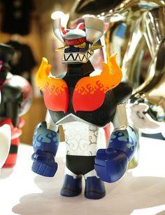 Touma x Phalanx Creative Mazinger by toybot studios, via Flickr