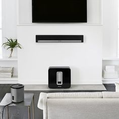 White SONOS Playbar & Sub, also a white 55\