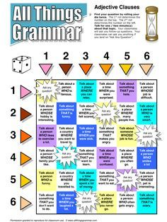 English Grammar Adjective Clauses www.allthingsgrammar.com/adjective-clauses.html