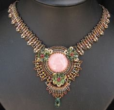 Nefertari's Necklace by Cielo Design, via Flickr