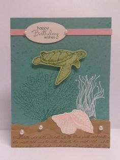 From Land to Sea by RachelsCraftRoom - Cards and Paper Crafts at Splitcoaststampers