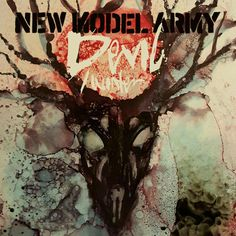 Cover art I did for the single from New Model Army's new album 'Winter'. #skull #singlecover