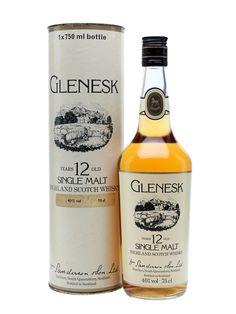 Glenesk 12 Year Old - Bot.1980s Scotch Whisky : The Whisky Exchange