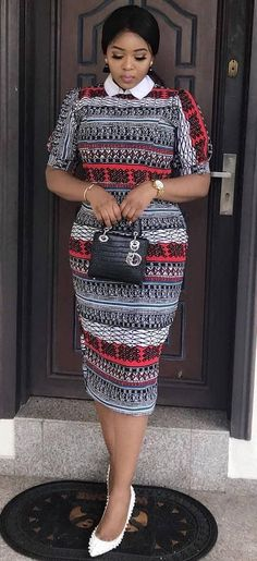 The right picture collection of 2018 latest ankara styles for ladies. Every woman deserves to rock the latest ankara styles of 2018 African Fashion Ankara, Ghanaian Fashion, Latest African Fashion Dresses, African Dresses For Women, African Print Dresses, African Inspired Fashion, African Print Fashion, Africa Fashion, African Attire