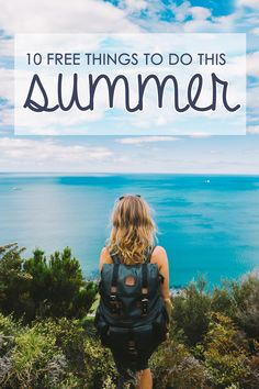 FREE Activities To Do This Summer Get your summer bucket list in order with these amazing 10 free things you need to try!Get your summer bucket list in order with these amazing 10 free things you need to try! Summer Goals, Summer Of Love, Summer Fun, Summer Things, Summer Hair, Summer Crafts, Summer 2016, Free Activities, Summer Activities