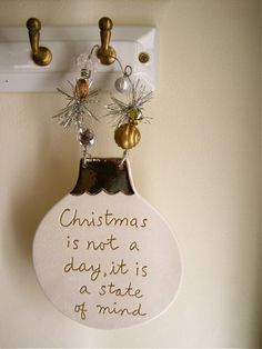 christmas is not a day, it's a state of mind.