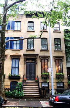 seriously in love with brownstones.