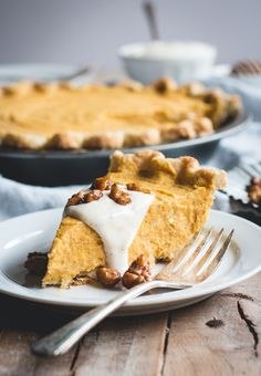 No-Bake Thanksgiving Pies: Pumpkin Mascarpone Pie