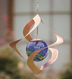 Hanging #Solar #Spiral #Spinner