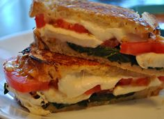 The Farm Girl Recipes: Gourmet Grilled Cheese