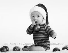 #6 Month Baby & #Holiday Photo Shoot | Michelle Langworthy Photography