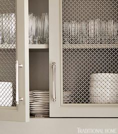 26 Best Wire Mesh Inserts For Cabinets Images In 2014 Wire Mesh