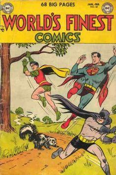 DC World's Finest Comics - Superman, Batman, and Robin