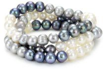 "Honora ""Tuxedo"" Freshwater Cultured Pearl Stretch Bracelet Set Bracelet Set, Jewelry Bracelets, Pearl Bracelets, Baby Pearls, Freshwater Pearl Bracelet, Coordinating Colors, Cultured Pearls, Stretch Bracelets, Tuxedo"