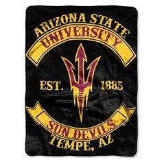 Arizona State Sun Devils Rebel Throw. Visit SportsFansPlus.com for a Discount Coupon.