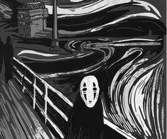 My Totoro Shop by MyTotoroShopCreative Aesthetic Art, Aesthetic Pictures, Aesthetic Anime, Purple Aesthetic, Totoro, Animes Wallpapers, Cute Wallpapers, Illustration Inspiration, Studio Ghibli Art