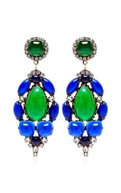 Earrings by Carole Tanenbaum: