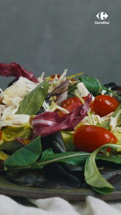 Salad Recipes, Vegan Recipes, Cooking Recipes, Food 52, Going Vegan, Fruits And Veggies, Seafood Recipes, Food Videos, Food And Drink