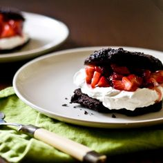 Chocolate Strawberry Shortcake Recipe | Key Ingredient