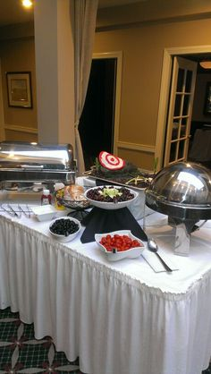 """Brave"" inspired buffet"