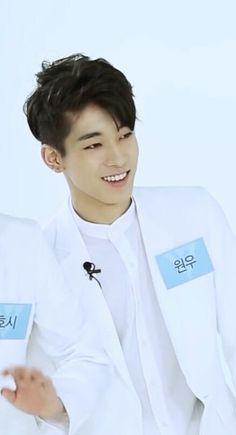 wonwoo~ his smile tho