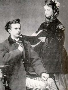 Ludwig became engaged to Duchess Sophie Charlotte in Bavaria, his cousin & the youngest sister of his dear friend, Empress Elisabeth of Austria. The engagement was publicized on 22 January 1867, but after repeatedly postponing the wedding date, Ludwig finally cancelled the engagement in October.