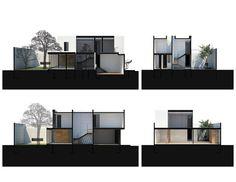 Hill Studio House,Diagram