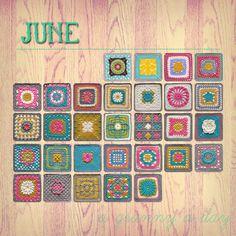 granny squares galore!  #crochet #granny_squares