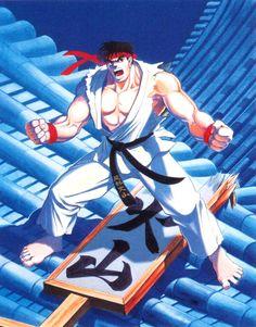 Ryu - Street Fighter 2 - Kinu Nishimura