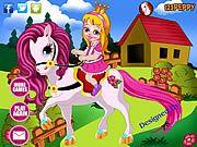 Jocuri cu Barbie cu Ponei