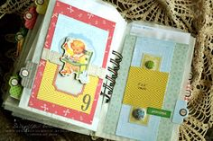 A Delightful Waste of Time: Scrapbook Sunday - Baby Book...13