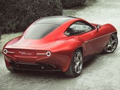 Alfa Romeo - Disco Volante (Flying Saucer in Italian)
