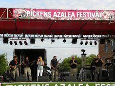 Pickens Azalea Festival Live Music on the Main Stage