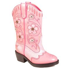 CUTE!  Pink Boots!