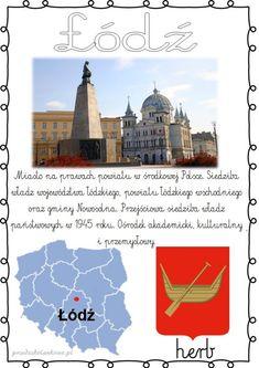 POLSKIE MIASTA – plansze zestaw 1 – Przedszkolankowo Herb, Taj Mahal, Activities For Kids, Education, Building, Movies, Movie Posters, Travel, Geography